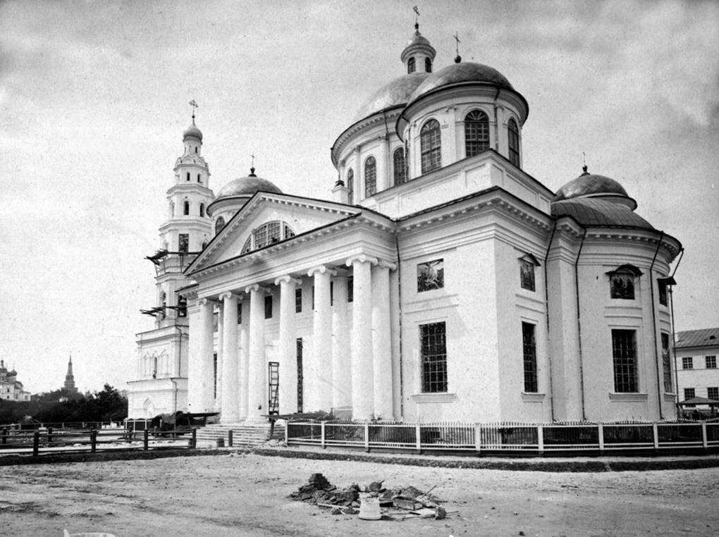 Собор Казанского Богородицкого монастыря. 1879 г.