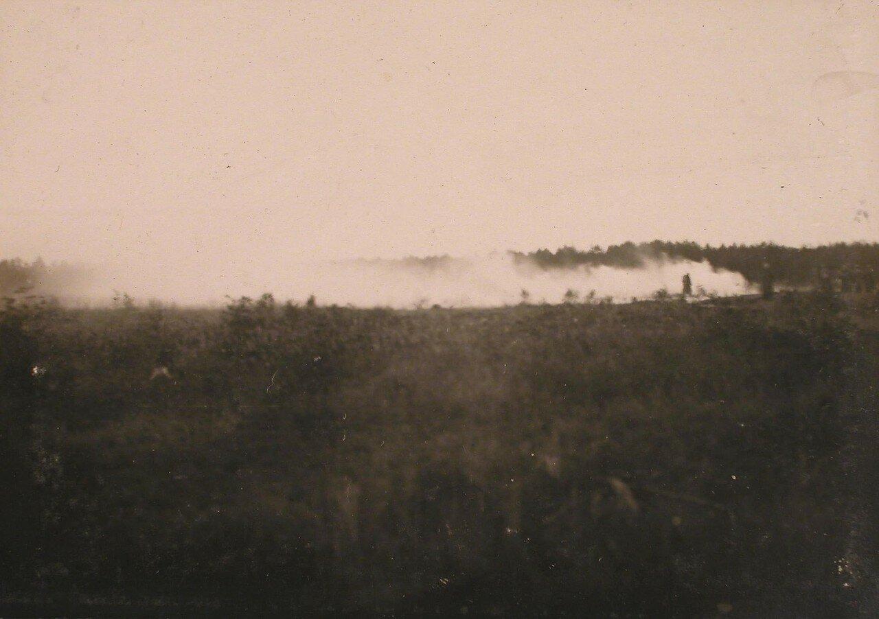 08. Вид газового облака в сырую погоду