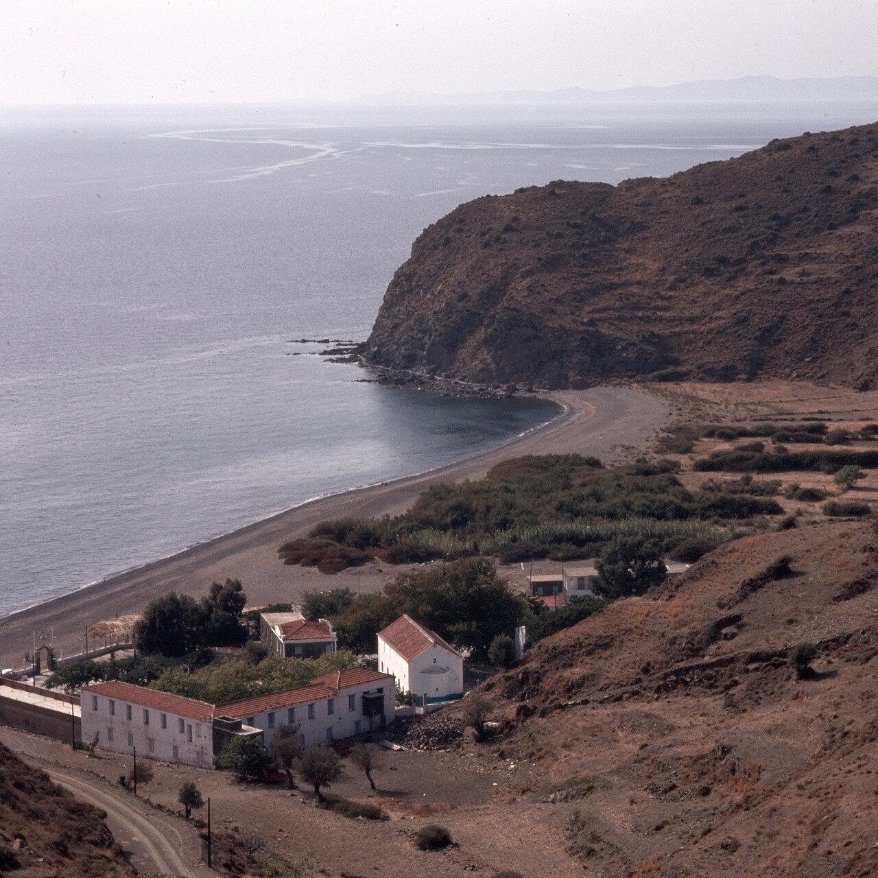 Северный Хиос. Монастырь Агиа Маркелла