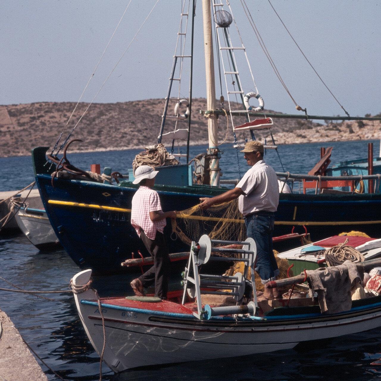 Южный Хиос. Небольшой порт