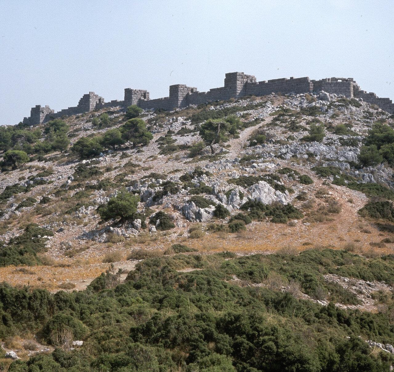 Китерон. Пограничный форт второй половины IV в. до н.э.