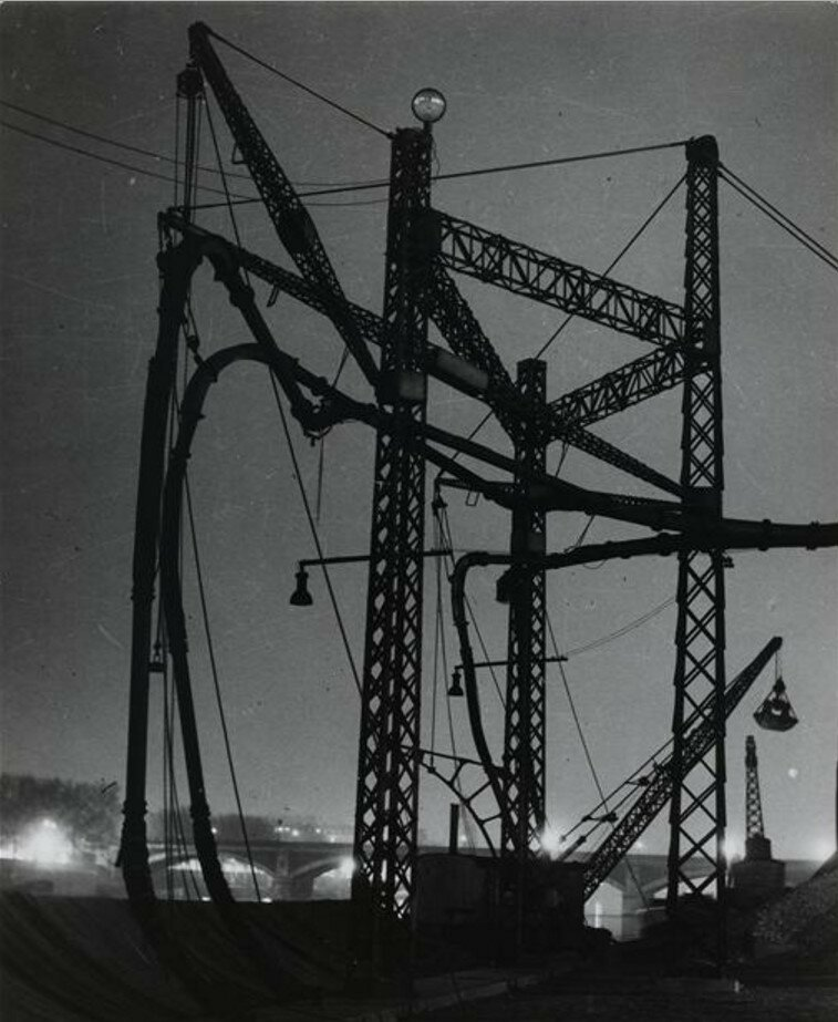1934.Сад больших мельниц, Ке-де-ля-Гар
