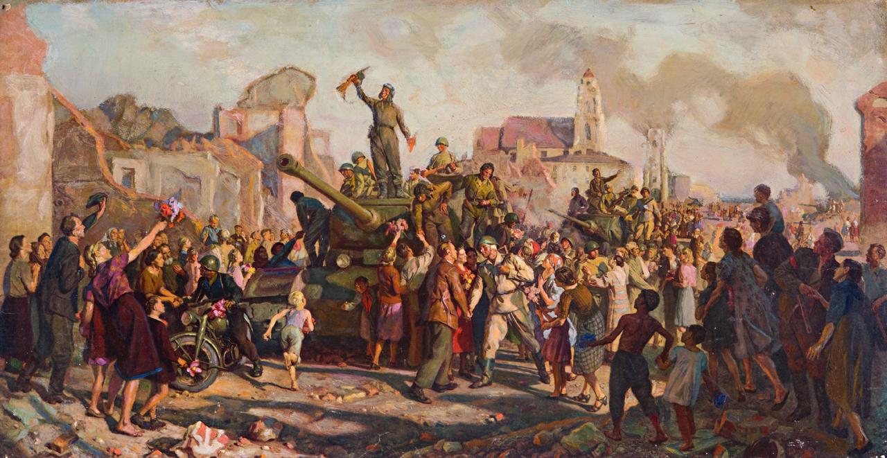 Великая страна СССР :: Освобождение Минска