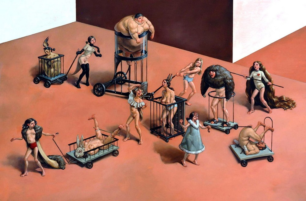 Противоречивые работы о человеческих пороках Эрика Тора Сэндберга