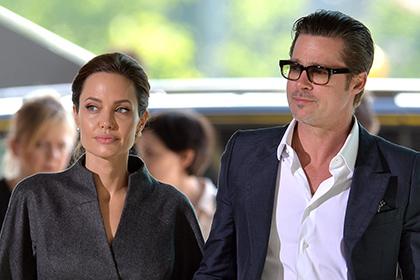 Между Питтом и Джоли заключен брачный договор