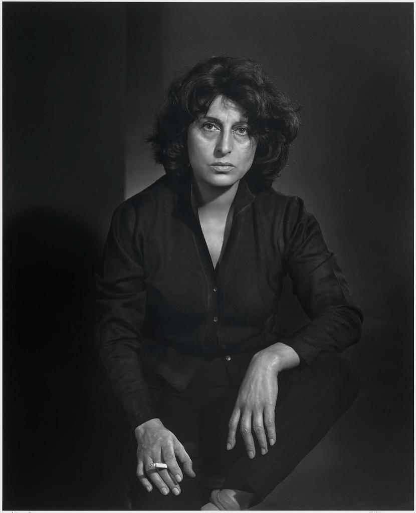 Анна Маньяни1958 Юсуф Карш Канадский фотограф 1908-2002