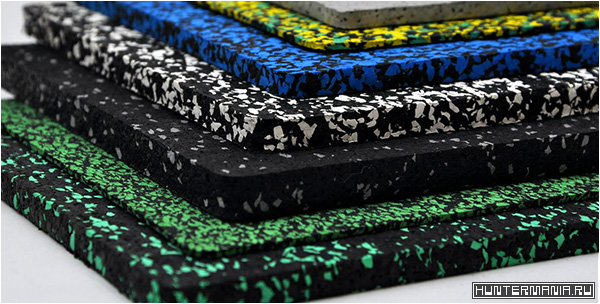 Рулонные резиновые покрытия