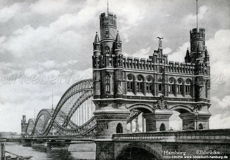 """Portal Elbbrücke """"Norderelbbrücke"""""""