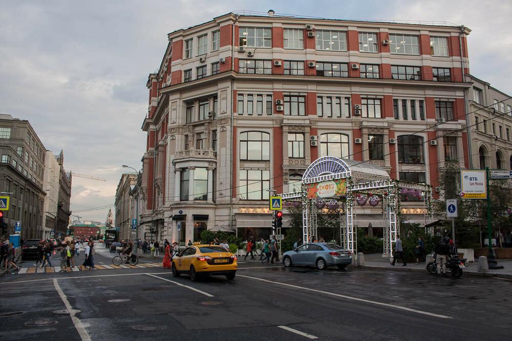 Торговый дом Хомякова. Дом, где снимали Служебный роман