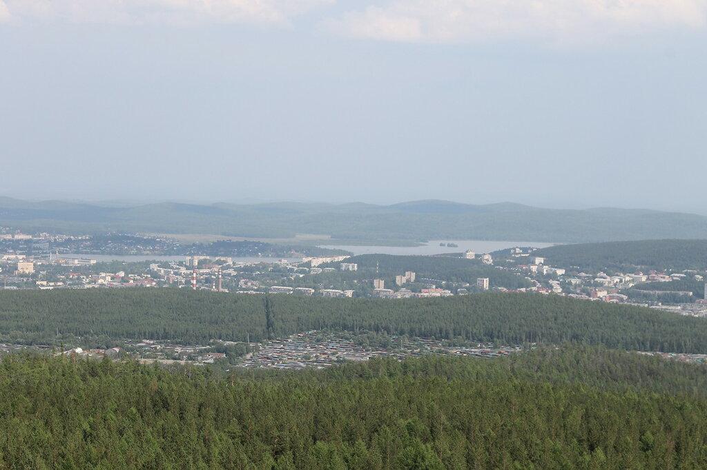 Гора Караульная август 2016.