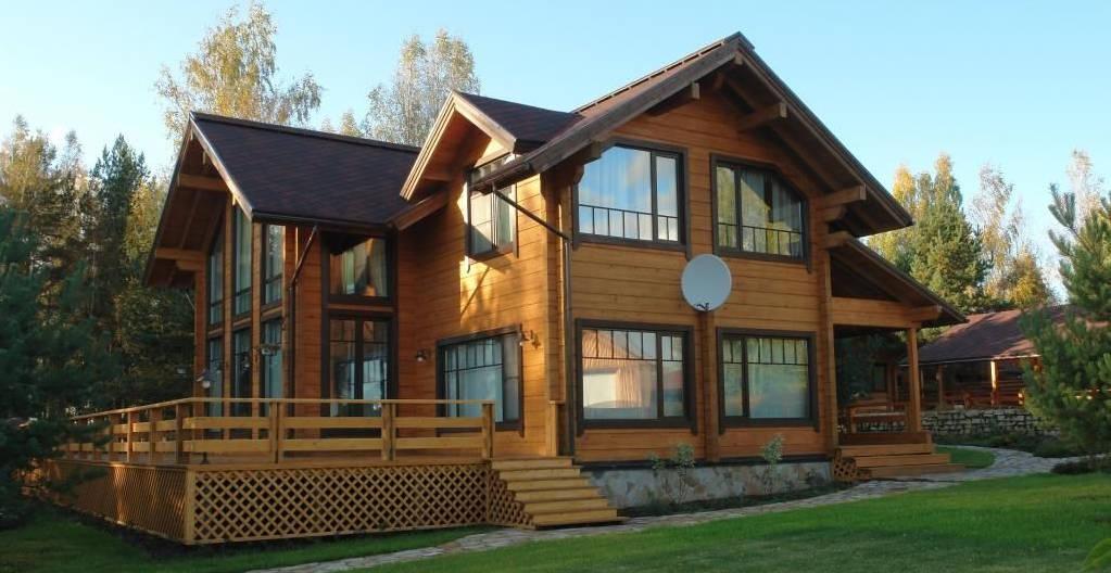 долговечность дома из клееного бруса