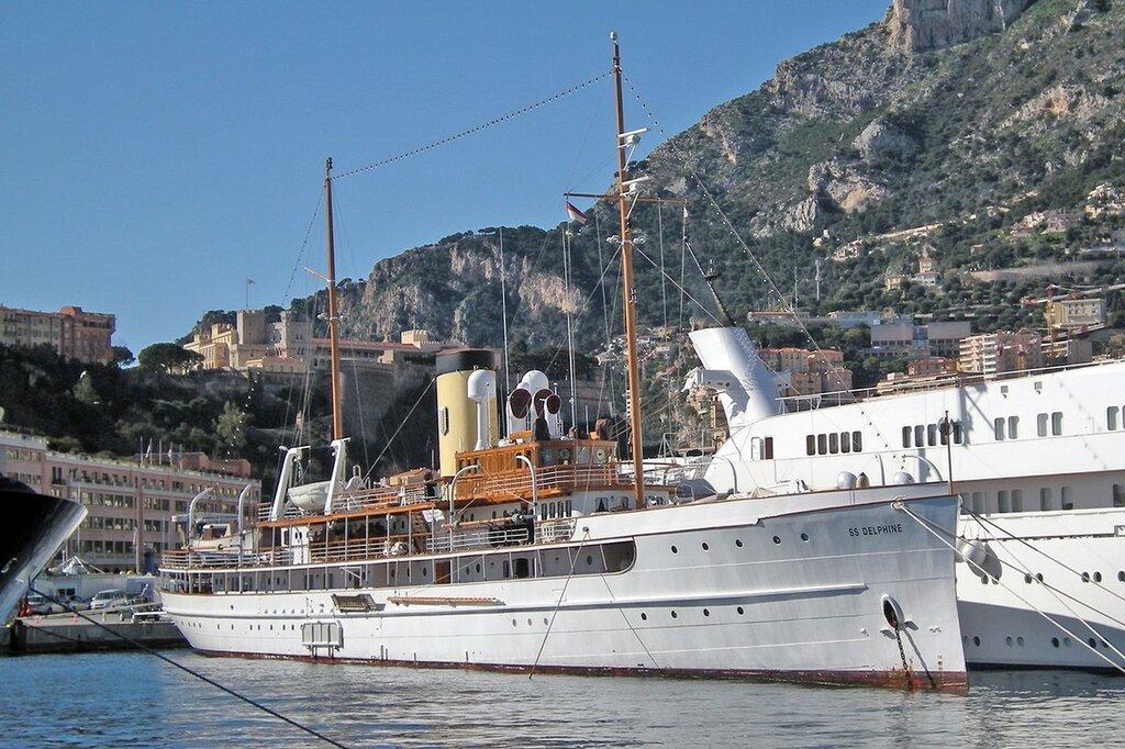 SS Delphine, c. 2008, Monte Carlo, Monaco
