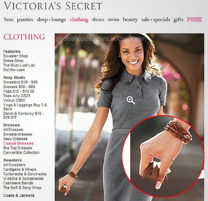 Невидимая сумка в рекламе Victoria's Secret Для рекламных кампаний Victoria's Secret всегда приглаша