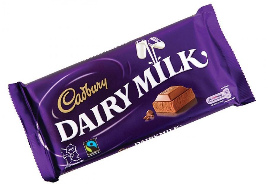 13. Самой ценной плиткой шоколада в мире считается Cadburry, которой уже исполнилось 100 лет. Она пр