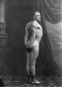 Портрет Г.Луриха, чемпиона мира, участника чемпионата.