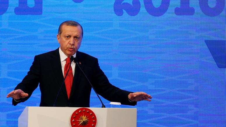 Эрдоган объявил, что операция «Щит Евфрата» вСирии ненаправлена против Асада