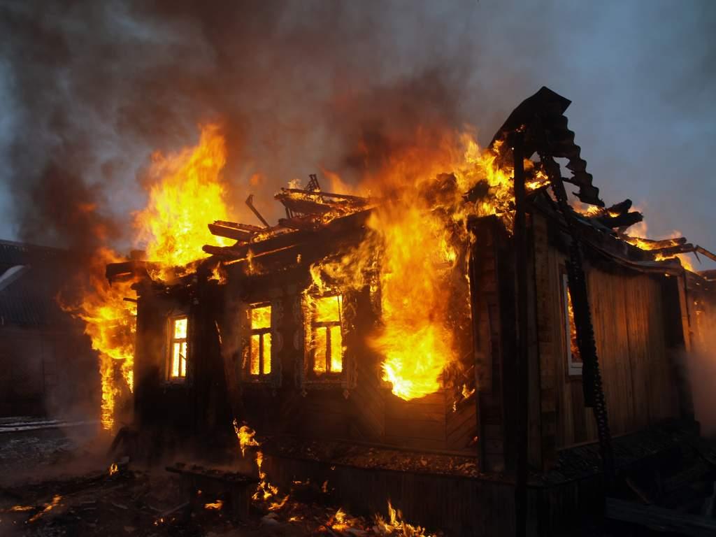 ВУфимском районе при пожаре погибло три человека