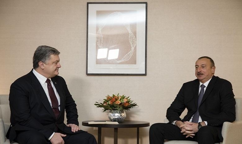 Порошенко обсудил спрезидентом Азербайджана инвестиции в Украинское государство