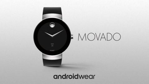 Movado показала умные часы Connect на андроид Wear 2.0