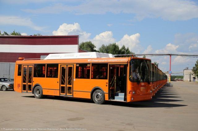 Ключи зажигания от50 автобусов вручит наплощади Нижнего Новгорода губернатор Шанцев