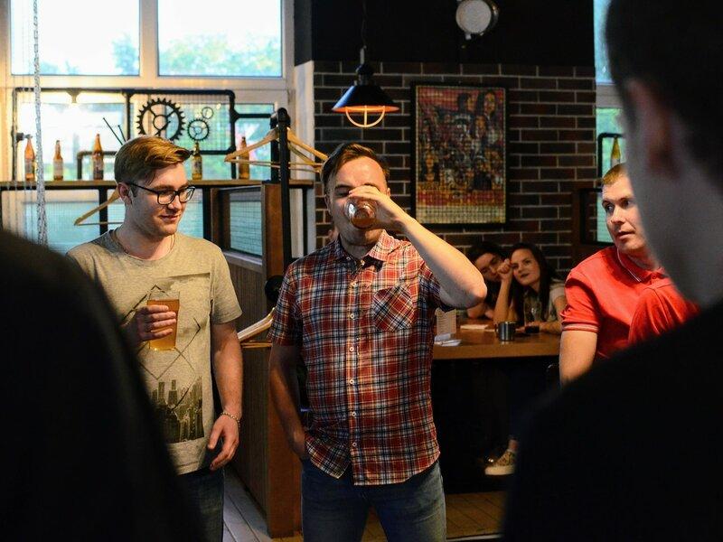 Презентация нового пива Пинта