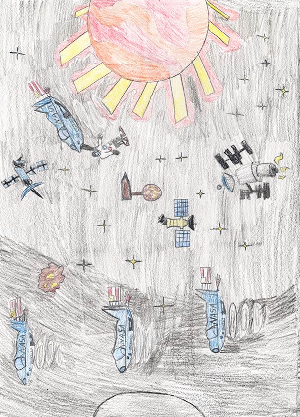 Quand les enfants dessinent le Futur…