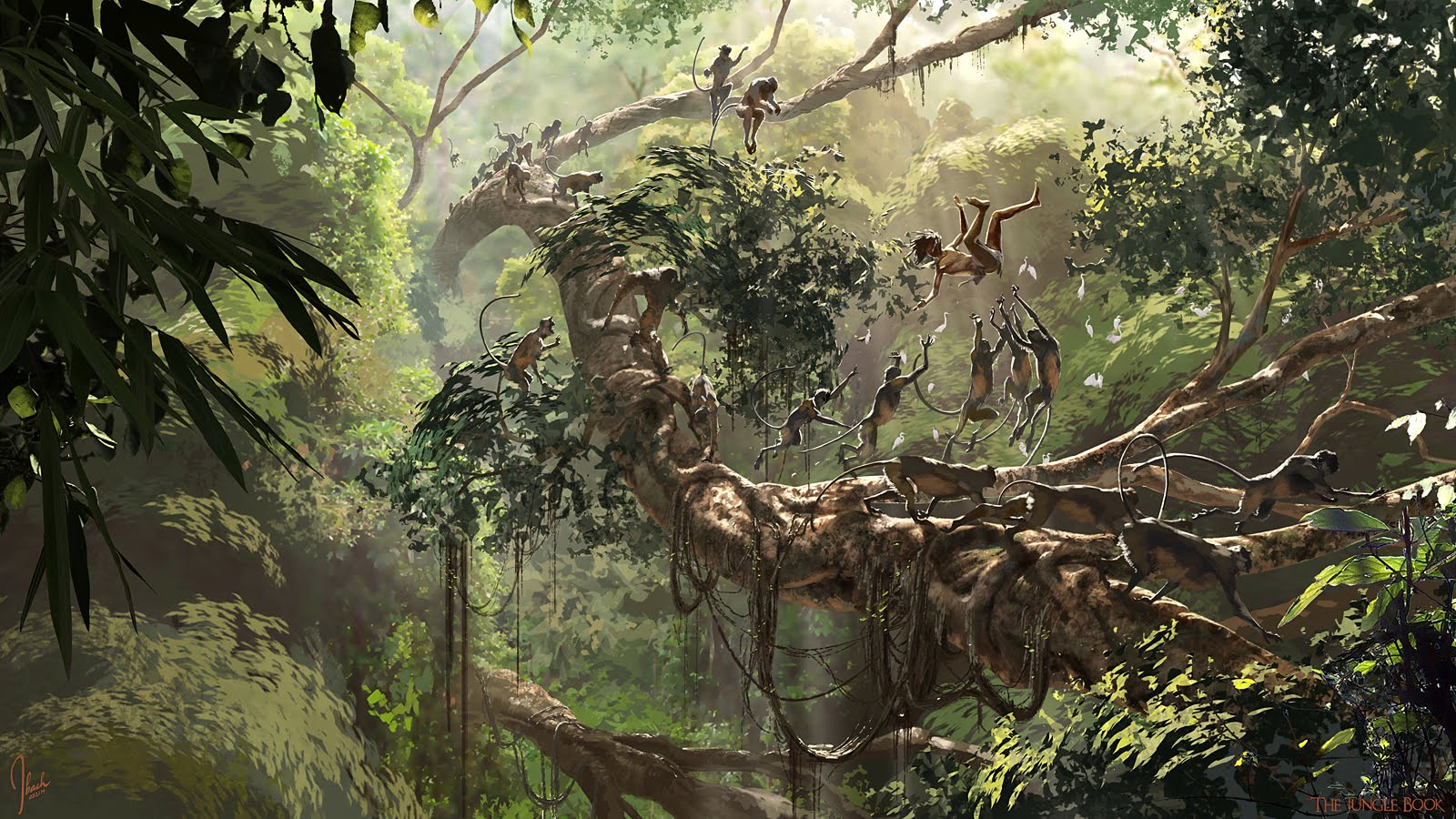The Jungle Book Concept Art by Jonathan Bach - Concept Art World