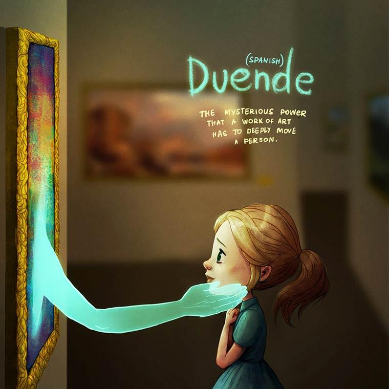 14 mots intraduisibles expliques avec de magnifiques illustrations