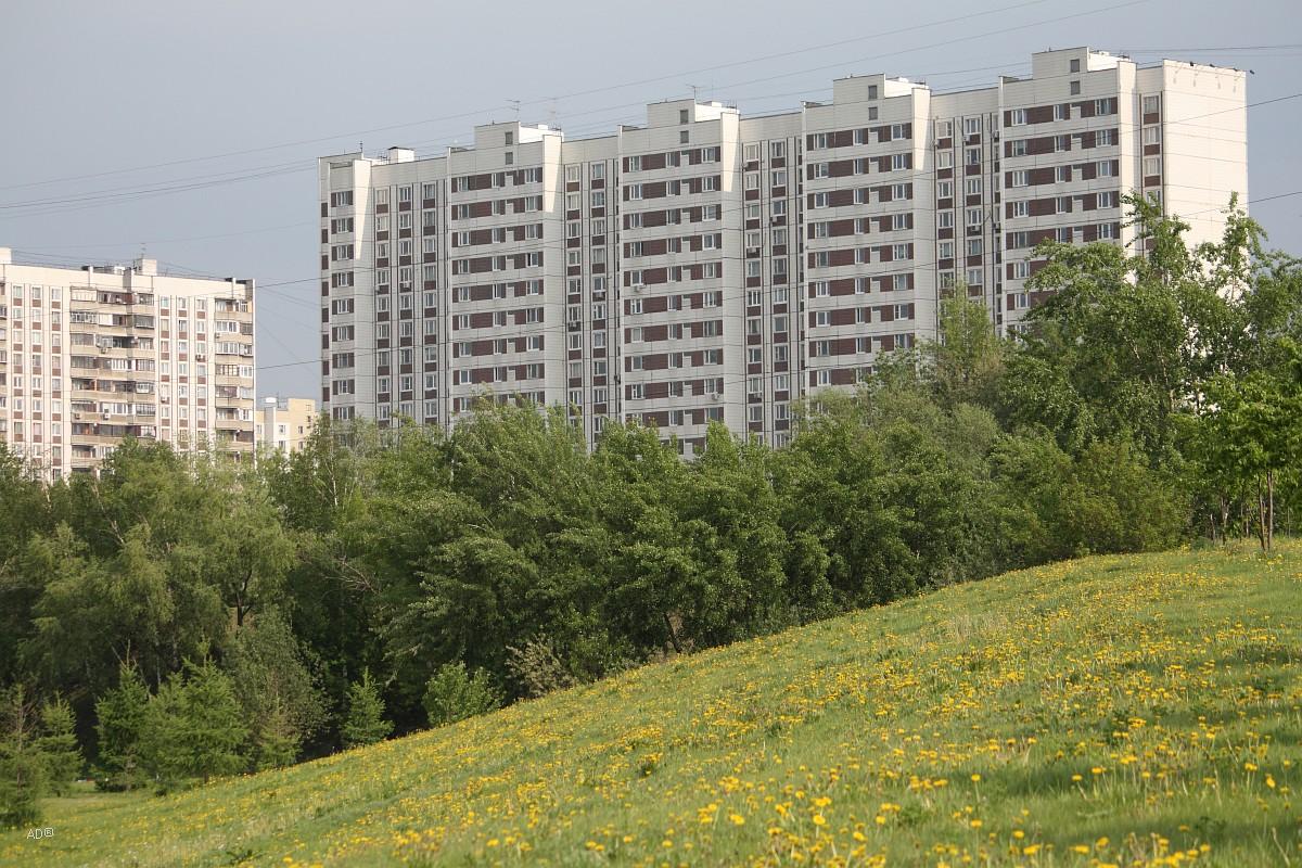 Москва - Парк «Борисовские холмы»
