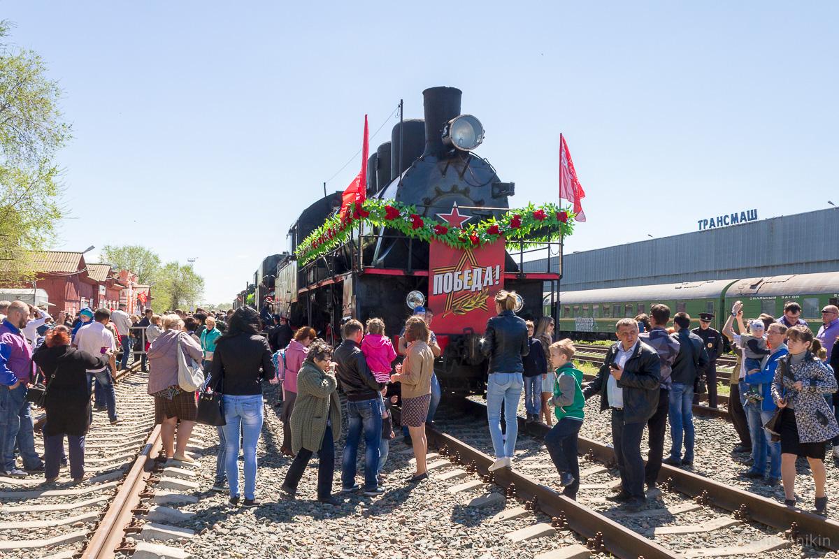 Ретро-поезд Победа фото 10