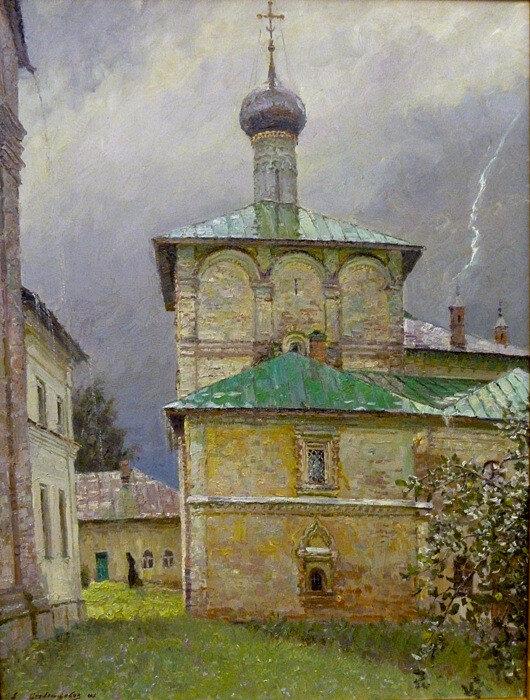 А.В. Стекольщиков - Благовещенская церковь, 2011.jpg