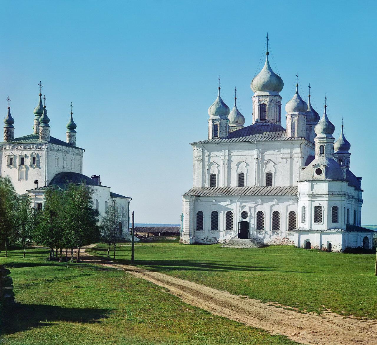 Окрестности Переславля. Успенский собор в Горицком монастыре