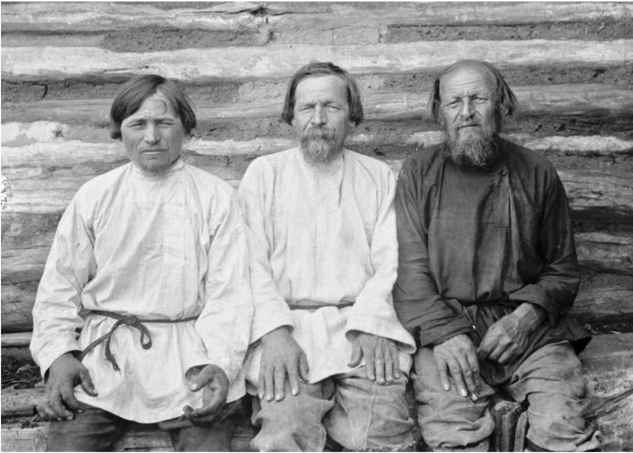 Михаил, Фёдор и Иван Костины