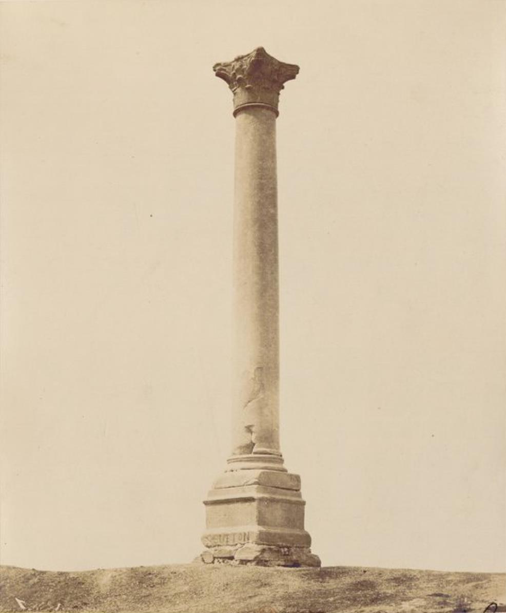 01. Александрия. Помпеева колонна