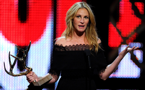 Джулия Робертс получила премию «Женщины десятилетия»