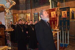 Vizita Episcopului Marchel în blagocinia Sîngerei