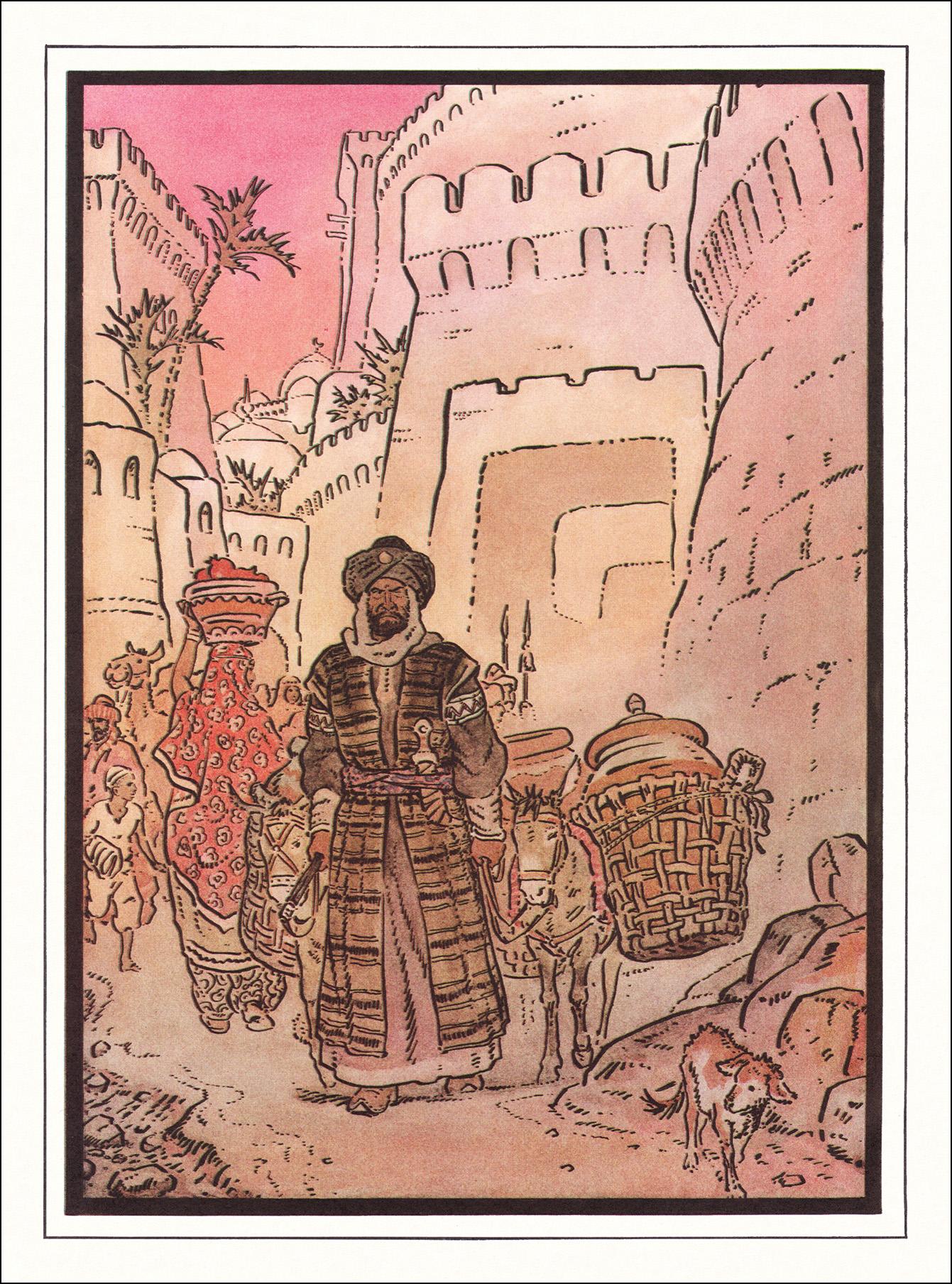 Ольшанский, Али-баба
