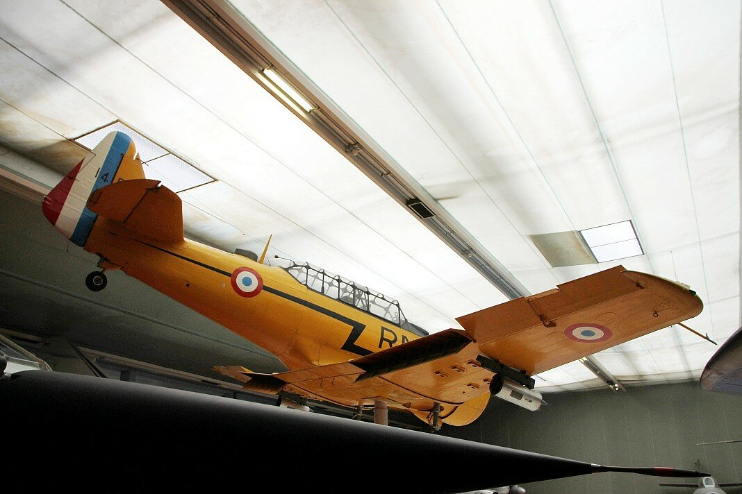 North American T-6G Texan (Le Bourget aviation Museum)