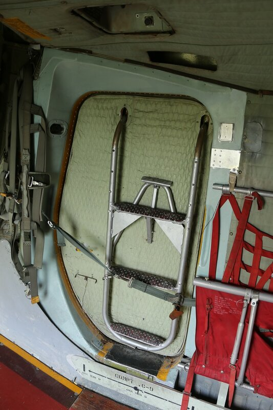 DHC-4 Caribou interior (Museo del Aire, Madrid)