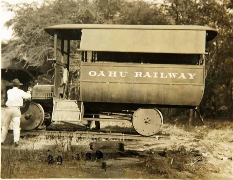 The Oahu Railway