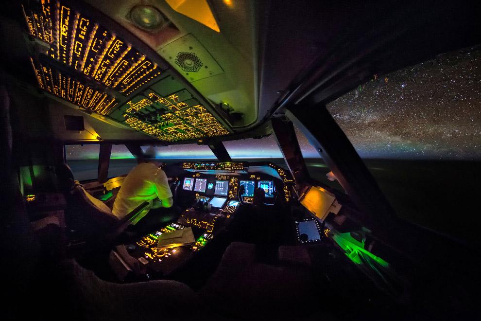 3. Наша Галактика. Млечный путь. (Фото Christiaan van Heijst | Daan Krans):