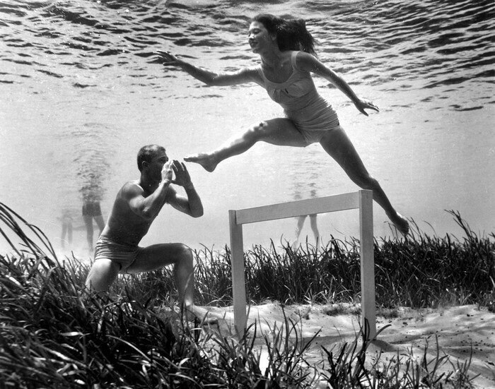 Сложно поверить, но эти подводные фотографии были сняты в 1938 году