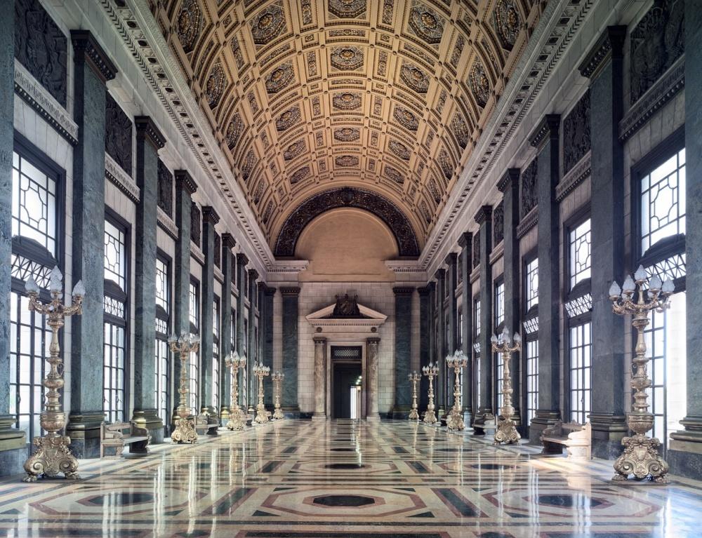 Роскошный зал Капитолия.
