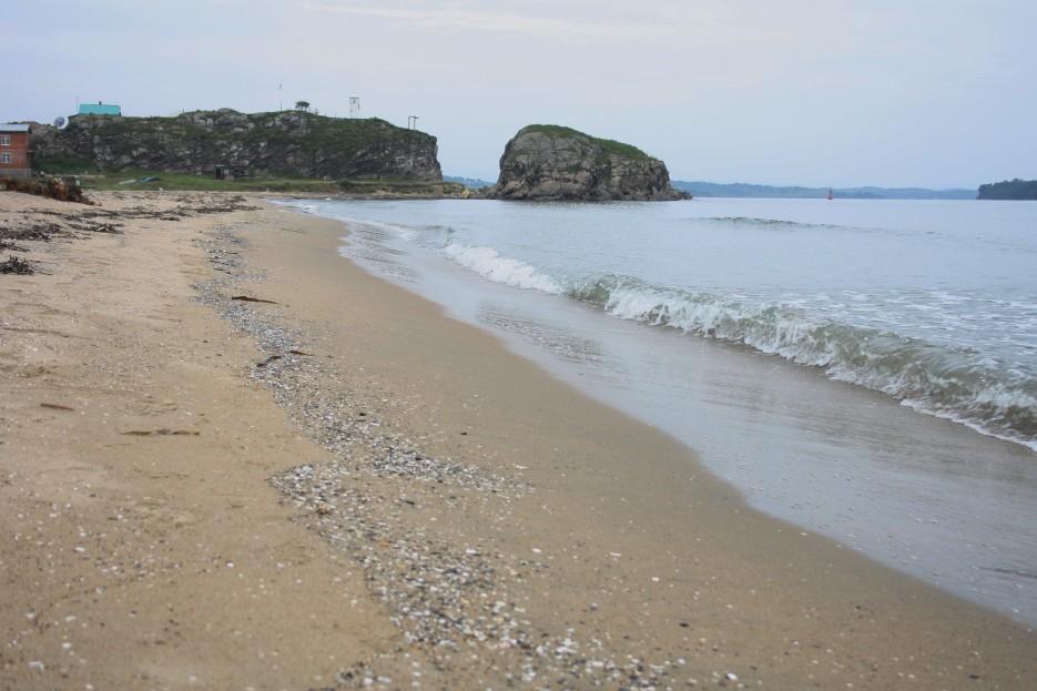 Японское море (Коса Назимова) Лучшее время для поездки: август Стоимость проживания: от 1500 рублей