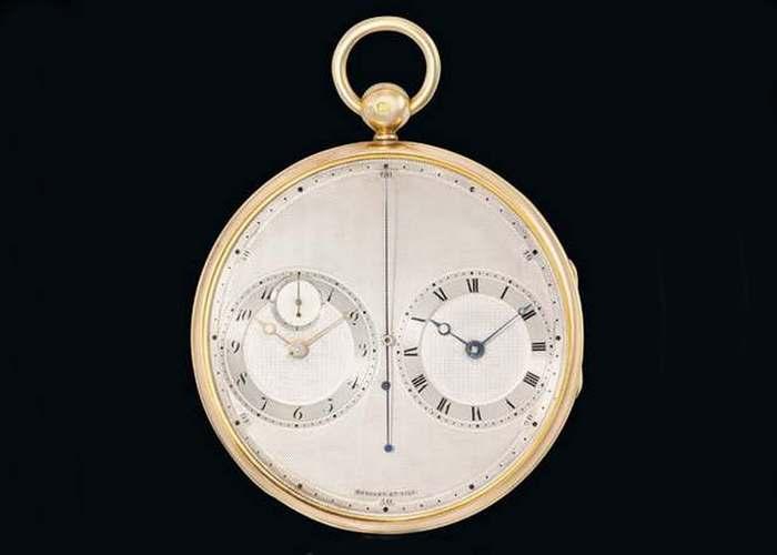 5. Breguet & Fils, No.2667 Precision Stop-Watch $ 4,6 млн Начиная с 18-го века продажи часов Абрахам