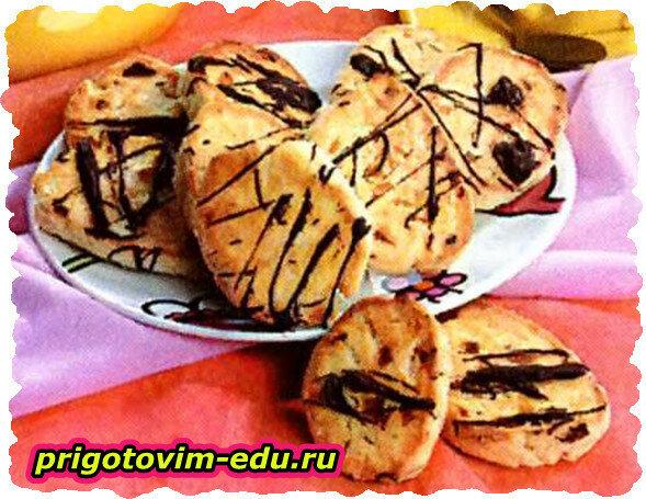 Абрикосовое печенье с кокосом
