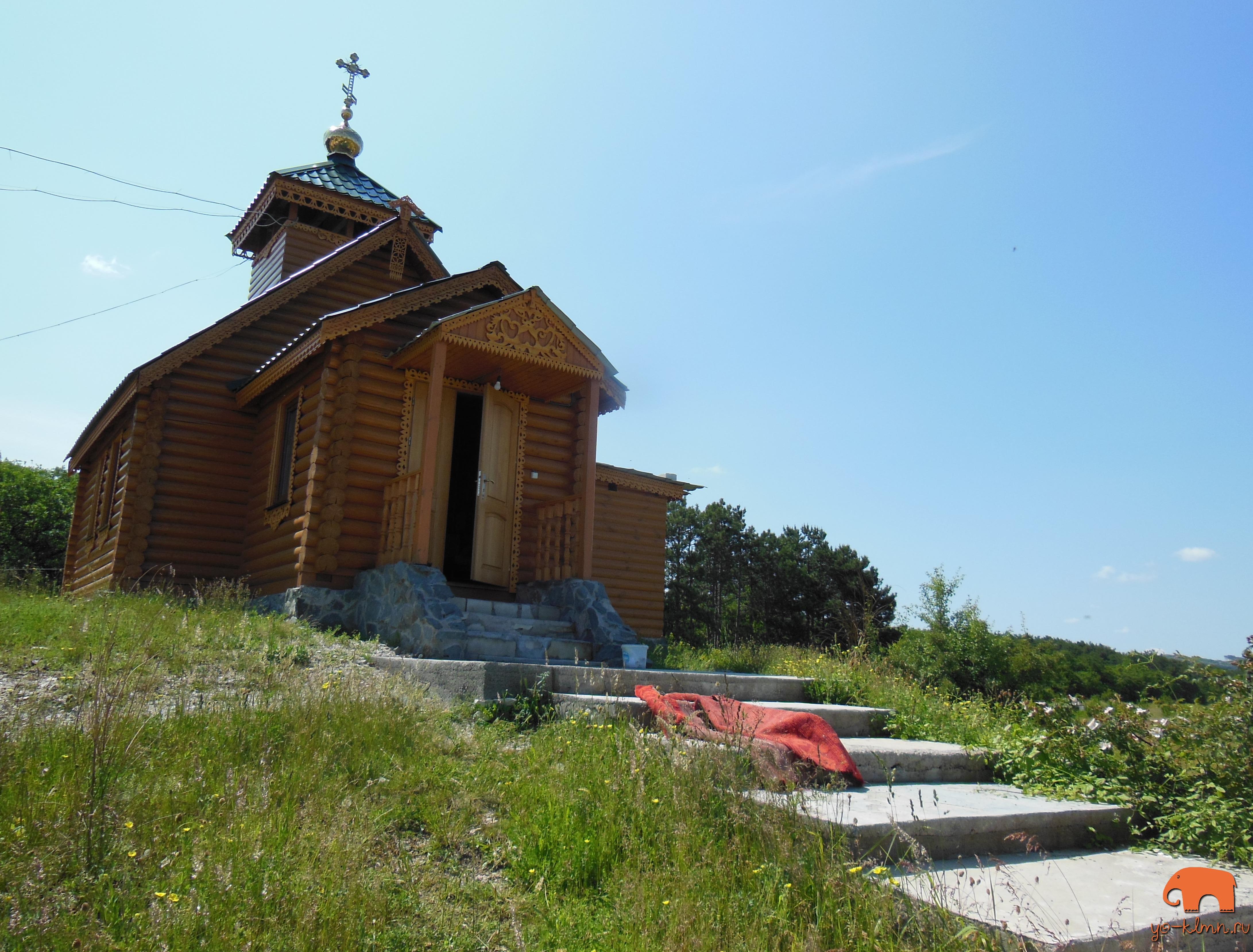 монастырь Святого Преподобного Лазаря Муромского село Скалистое Крым