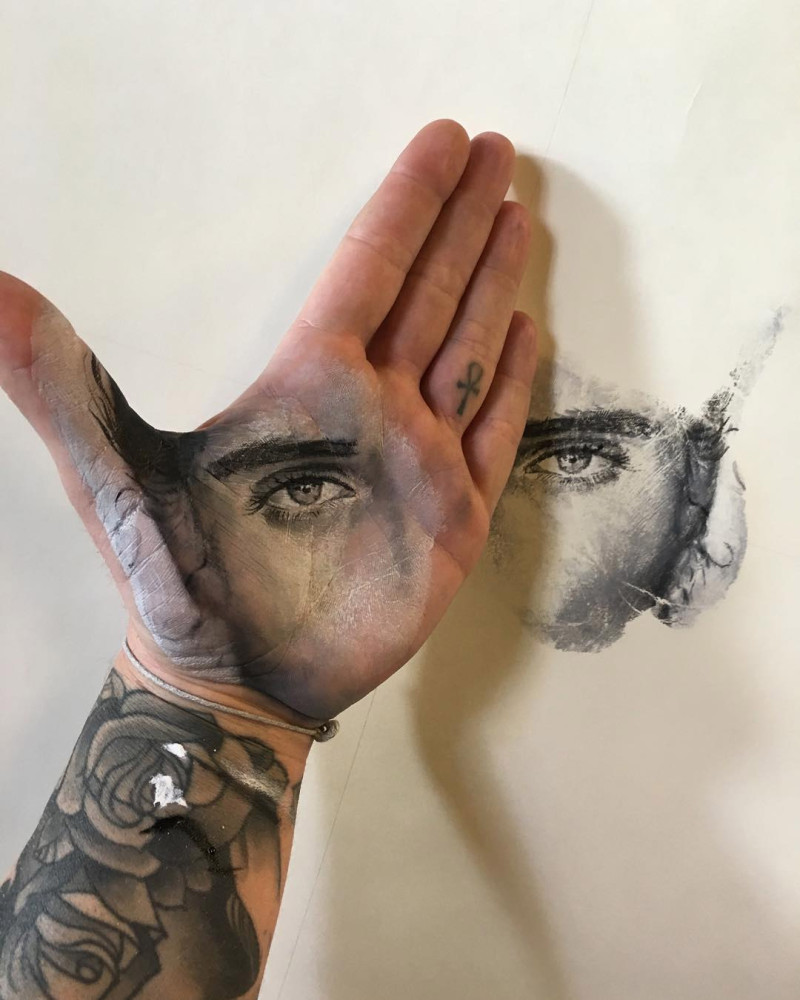Incredible Hand-Painted Portraits by Russell Powell