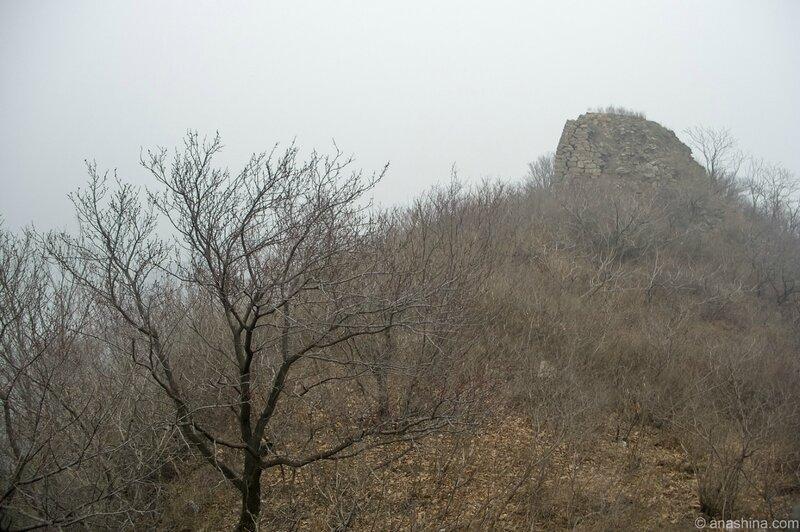 Руины Стены, Мутяньюй, Великая китайская стена