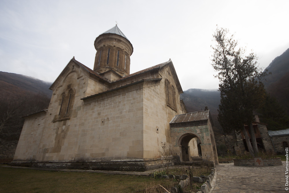 Грузия, Кавчурское ущелье, Кватахеви